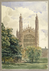 King's College, Cambridge, c.1849